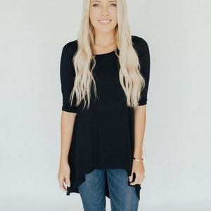 Carly Fave Half Sleeve Tunic - Small